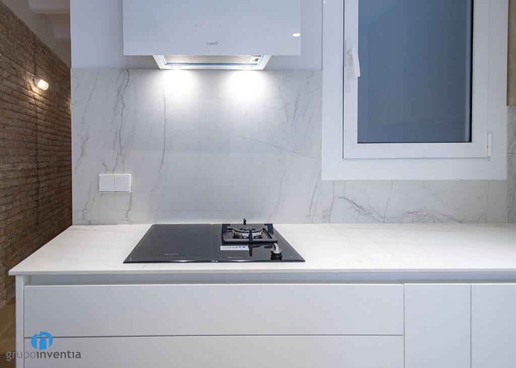 salpicadero marmol cocina