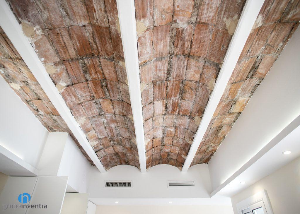 restaurar techo ladrillo