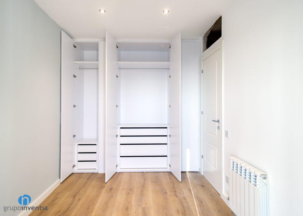 dormitorio con almacenaje a medida