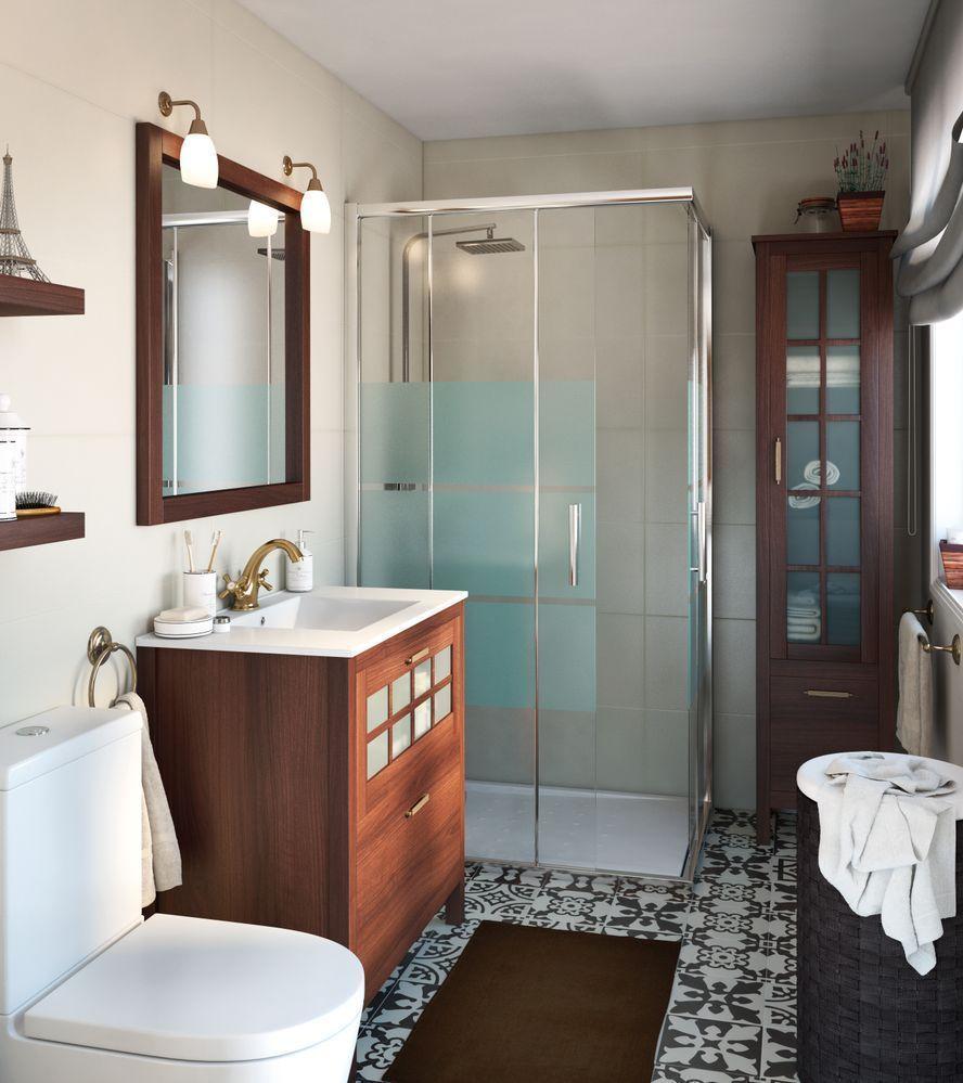 Baño con elementos en madera - Grupo Inventia | Opiniones ...