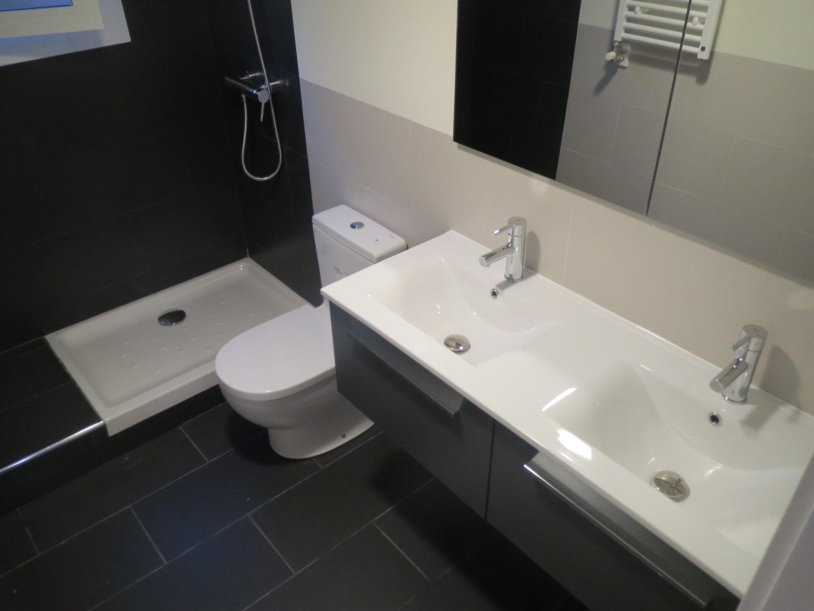 Baño Reformado Ducha:Baño reformado y equipado