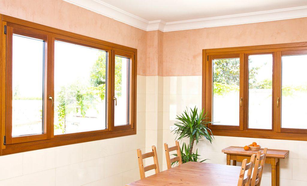 ventanas madera restaurada